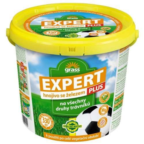 Expert plus - trávníkové granulované hnojivo 10 kg