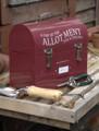 Burgon&Ball Plechový box na ruční nářadí