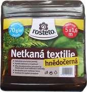 Neotex Rosteto - hnědočerný 70 g, netkaná textilie