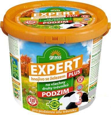 EXPERT podzim PLUS trávníkové hnojivo 10 kg v kbelíku