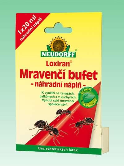 Loxiran Mravenčí bufet – náhradní náplň 1 ks Neudorff