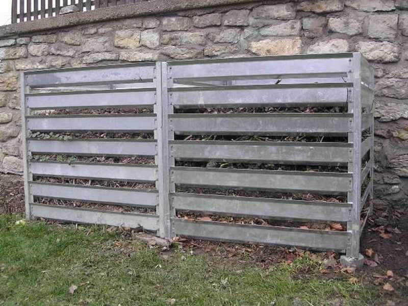 Rozšiřovací modul pro kompostér K 21 zinkovaný plech (š/d/v): 109 x 109 x 100 cm