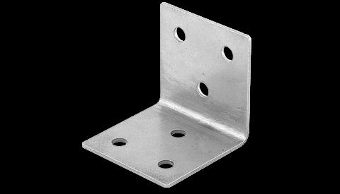 """Nerezový spojovací klip pro ploty a zábradlí, tvar """"L"""""""
