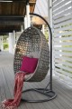 Barcelona závěsná ratanová houpačka