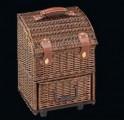 Cilio Merone Picknick trolley tmavě hnědý