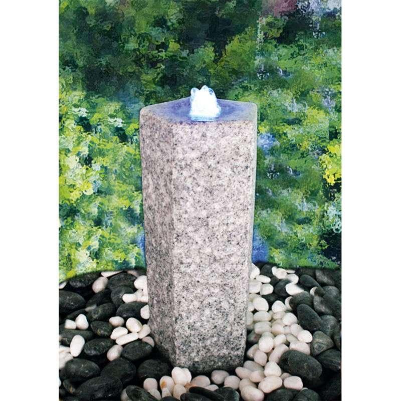 Heissner Kamenná fontána Quintus s LED osvětlením