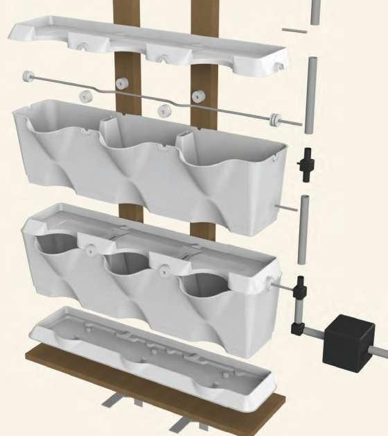 Quizcamp Minigarden zavlažovací systém