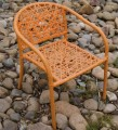 Zahradní křeslo, židle Nest z ratanu