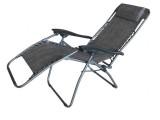 Relaxační lehátko - šedé