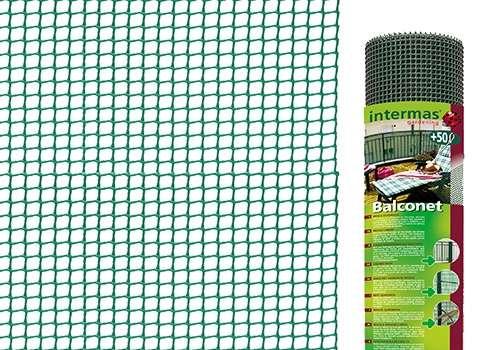 Balconet plastové pletivo green 05 Intermas