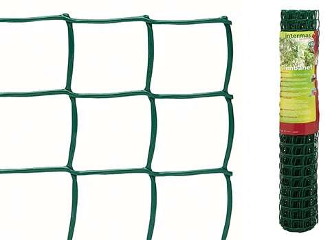 Climbanet 45 plastové pletivo green Intermas