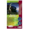 Intermas Oblouk Roman Solar Arch style metal na popínavé rostliny