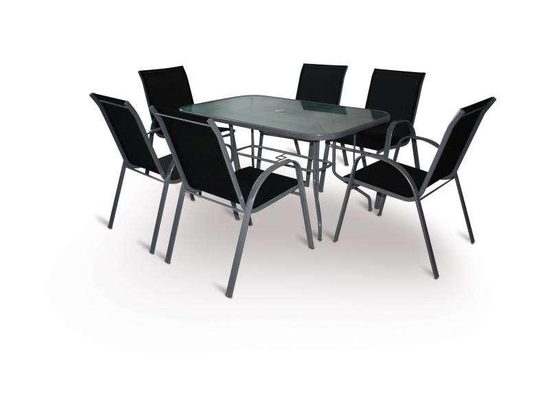VeGAS Patricia set 6-AL stolová sestava V-GARDEN