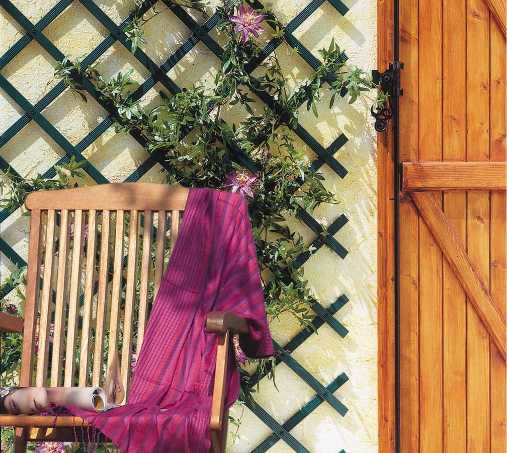 Trellis dekorativní plastová mřížka pro rostliny Nortene