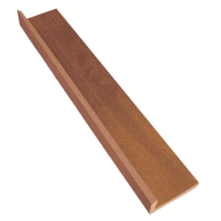 Ukončovací lišta rohová Biwood WPC 4000 x 57/26 x 6 mm