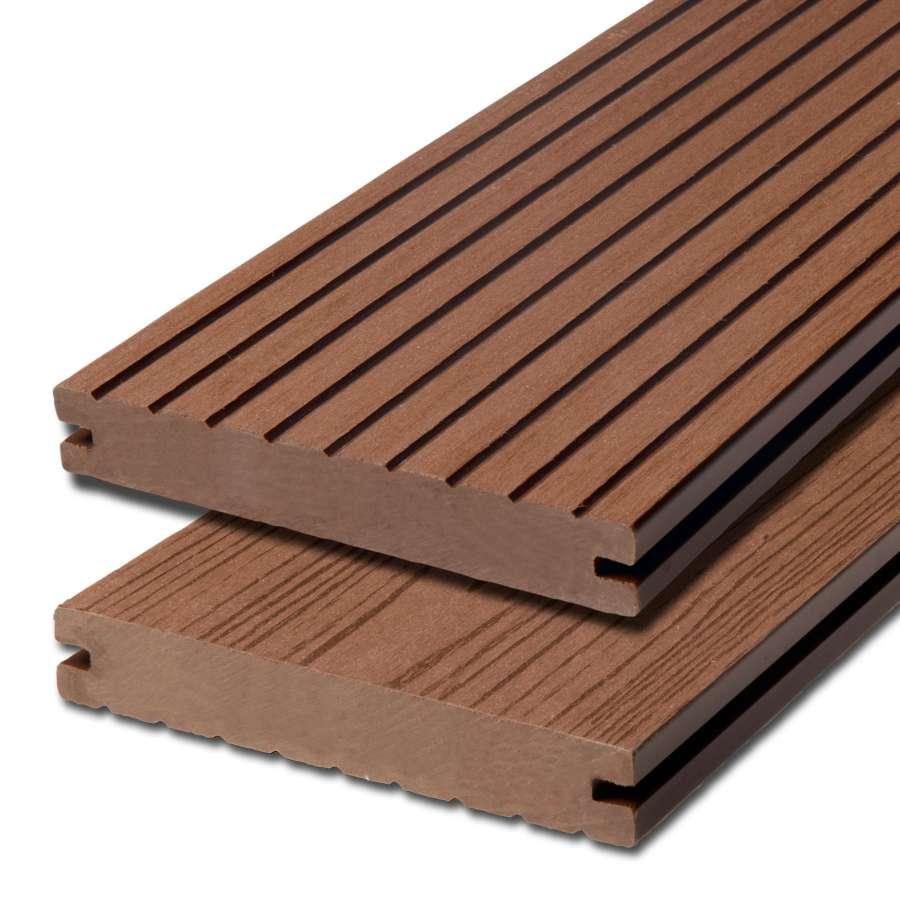 WPC terasová prkna Biwood Pro Bangkirai, G - hrubá drážka / hladký