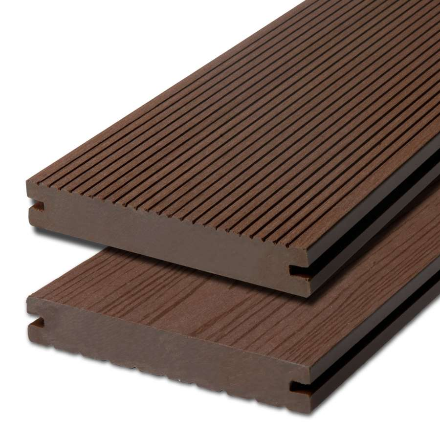 WPC terasová prkna Biwood Pro Wenge, F - jemná drážka / hladký