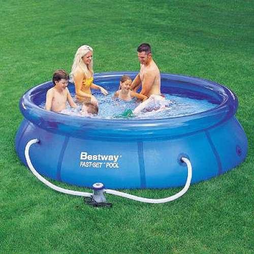 Bestway Bazén rodinný 244x66 cm sada s filtrací