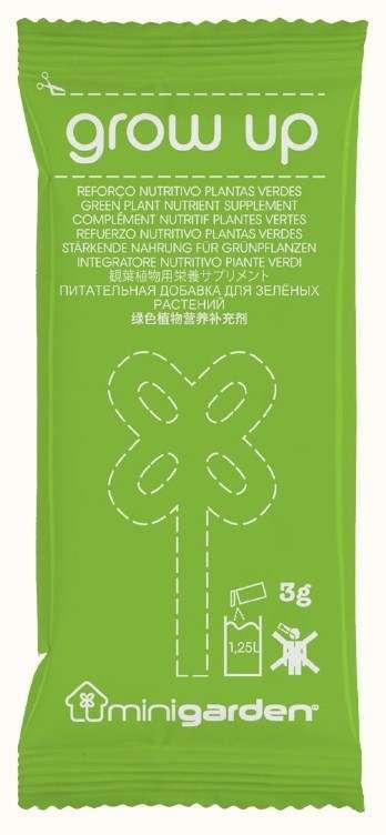 Quizcamp Výživa rostlin - zelené rostliny, listy, Minigarden® Grow Up Green