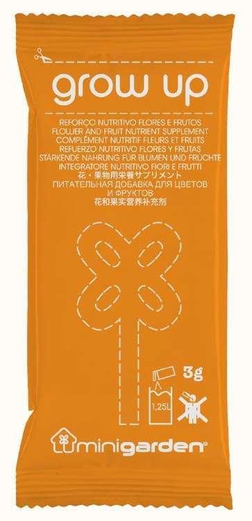 Quizcamp Výživa rostlin - květy, ovoce, Minigarden® Grow Up Orange