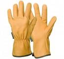 Dámské a pánské kožené zahradní rukavice EP