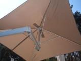 Umbrosa Paraflex slunečník 190x190cm Sada Wallflex pro montáž na stěnu Premium