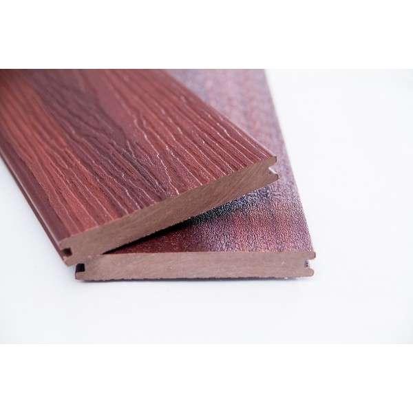 WPC Terasové prkno plné přírodní originální dřevo 20x140 x 2900 mm
