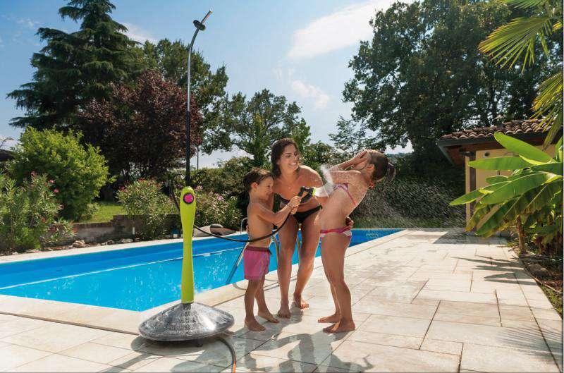 GF Solární sprcha Sunny Style Premium lime G.F.