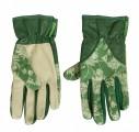 Dámské kožené rukavice zelené Kimono Sand