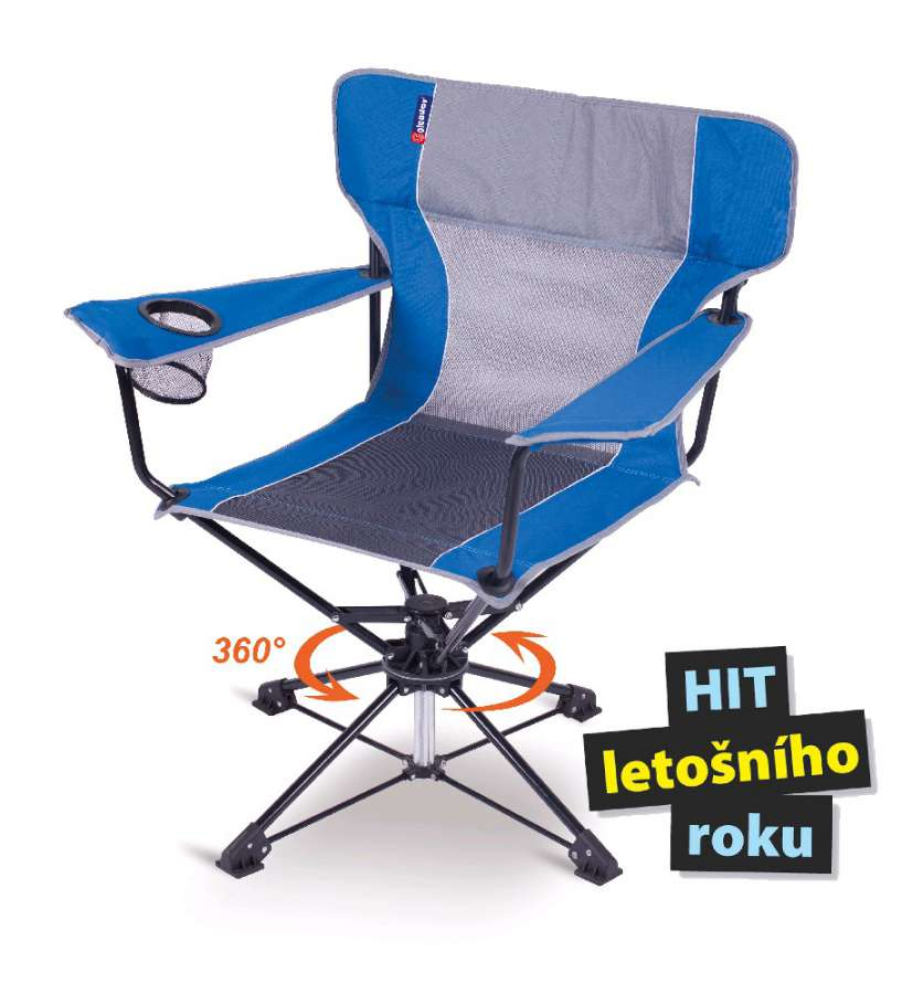 Rozkládací zahradní křeslo, židle ROTO-CAMP