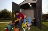 Zahradní plastový domek LIFETIME 60014 FOX, doprava zdarma