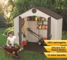 Zahradní plastový domek LIFETIME 6418 DIY, doprava zdarma