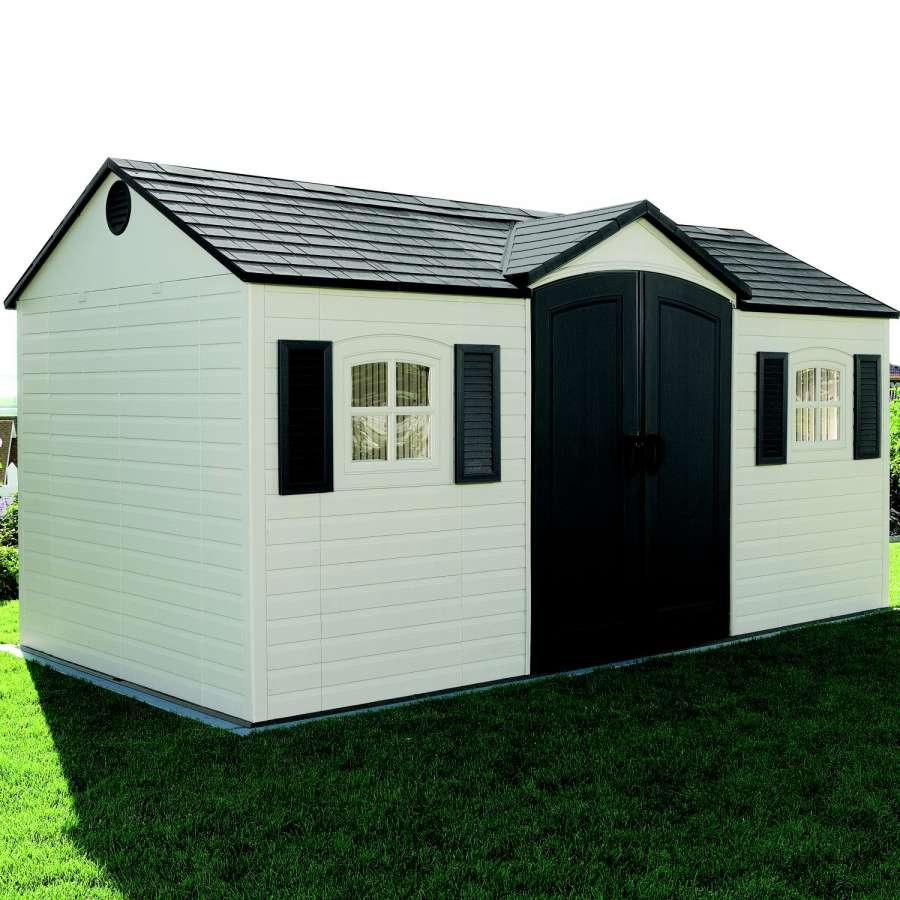 LIFETIME Zahradní plastový domek 6446 GARTEN VILLA