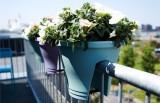 Elho Květináč na zábradlí ELHO Corsica Bridge - anthracite