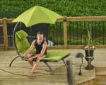HANSCRAFT Zahradní pohovka Vivere Original Dream Lounger, Green Apple