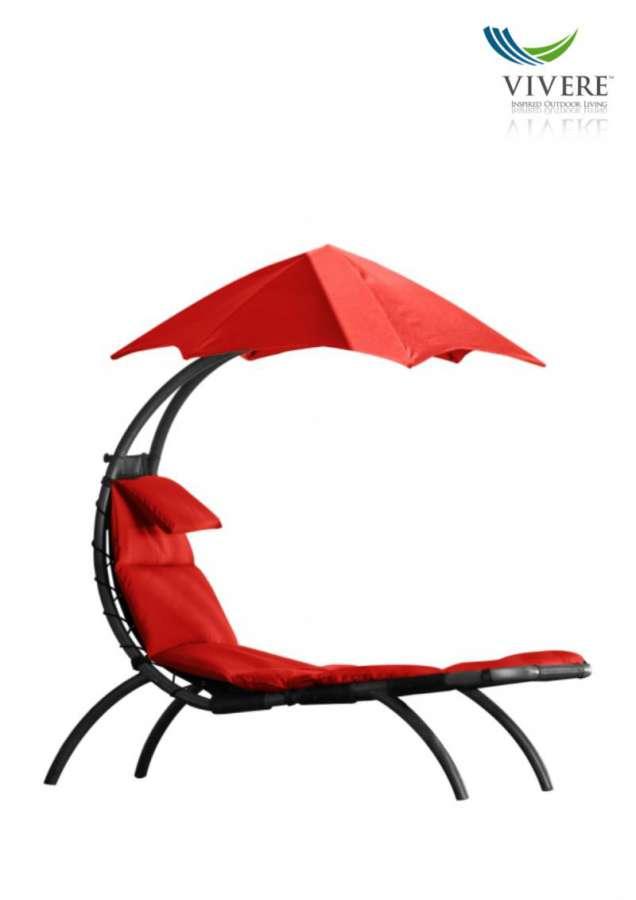 HANSCRAFT Zahradní pohovka Vivere Original Dream Lounger, Cherry Red