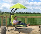 HANSCRAFT Závěsné houpací lehátko Vivere Original Dream Chair, Green Apple