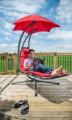 HANSCRAFT Závěsné houpací lehátko Vivere Original Dream Chair, Cherry Red
