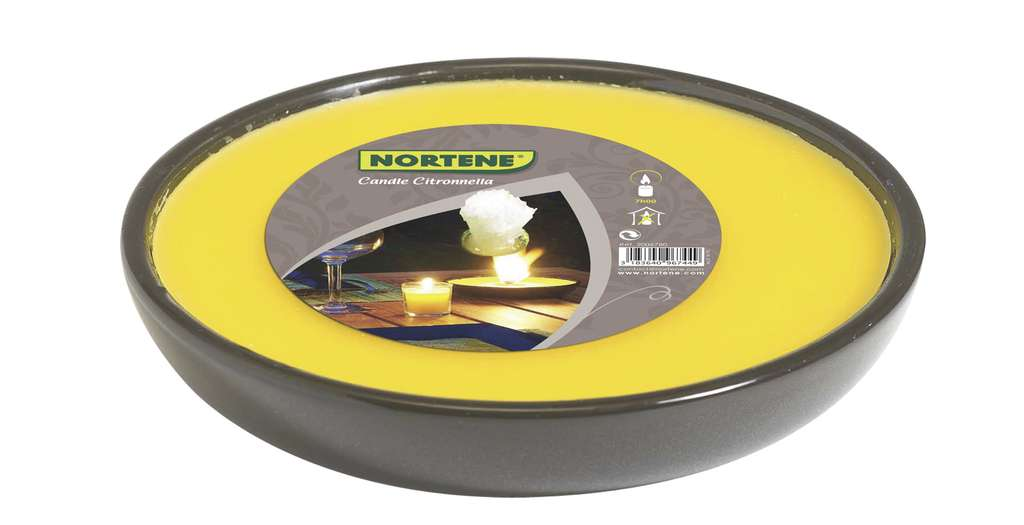 Nortene Candle Citronnella disc 227 g