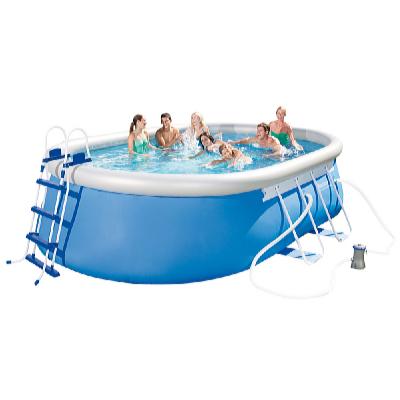 Bestway Bazén oválný 4,88 x 3,05 x 1,07 m set včetně příslušenství
