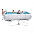 Bazén s konstrukcí 4,04 x 2,01 x 1 m set včetně příslušenství