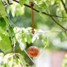 Burgon&Ball Krmítko Apple Bird - Heart Sophie Conran