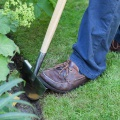 Ořezávač hran trávníků půlkruhový