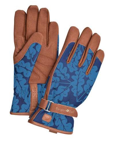 Burgon&Ball Zahradní rukavice - Oak Leaf Navy