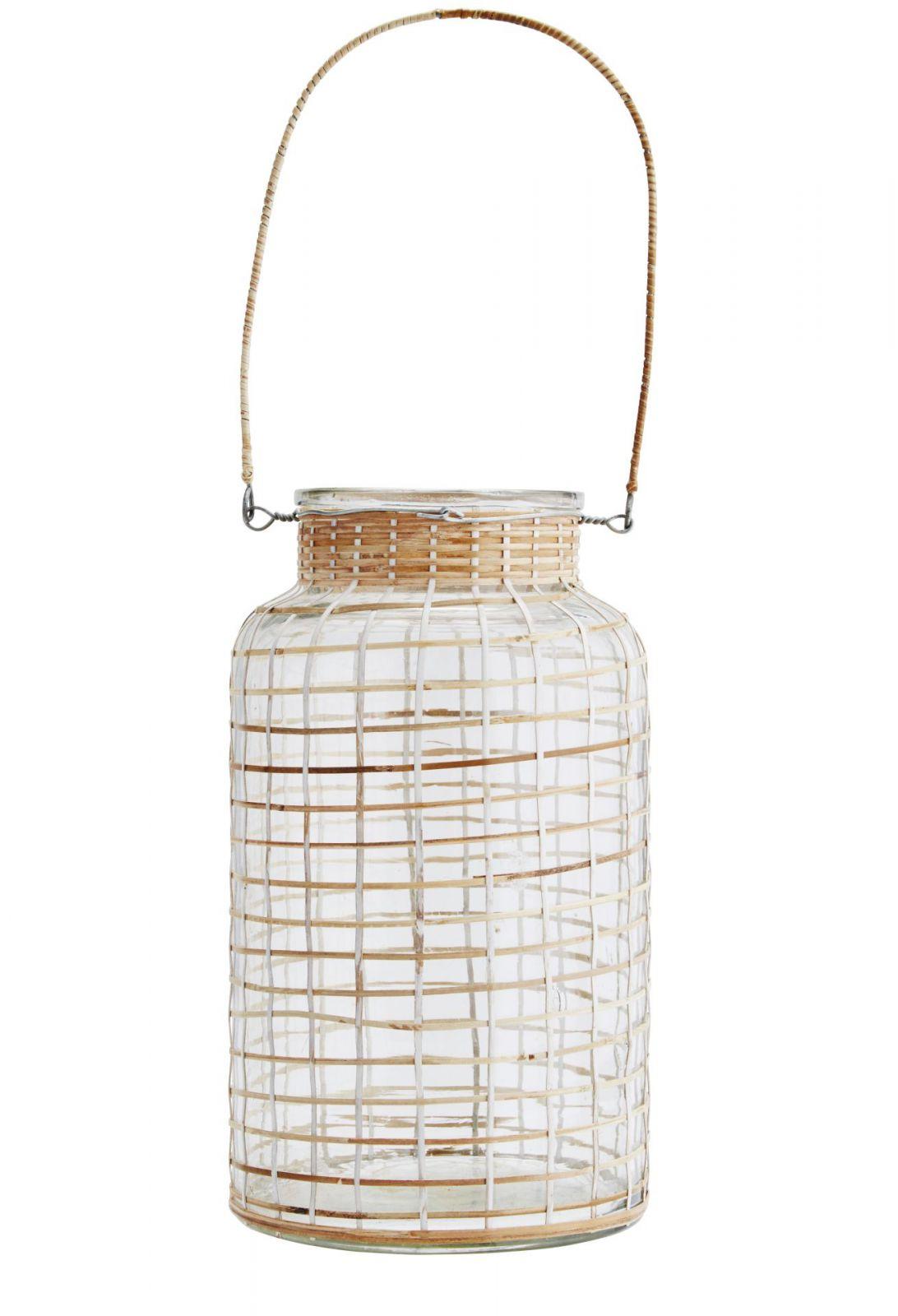 Madam Stoltz Lucerna Clear/bamboo