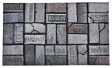Venkovní rohožka 551 Ecomat MP 707 Weathered bricks