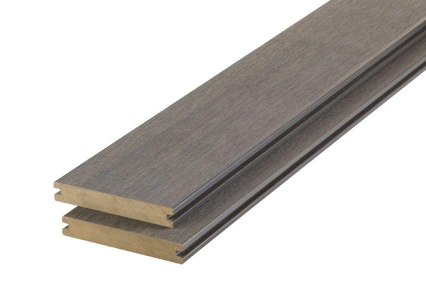 WPC terasová prkna Biwood® Profl UltraShield 5m Stone Gray + XL