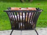 Cook King Rošt nerez 44x44 cm na ohniště 60 cm
