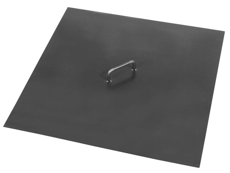 Cook King Víko na ohniště s lemem čtvercové 72,5 x72,5 cm