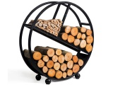 Zásobník na krbové dřevo DIEGO 80 cm